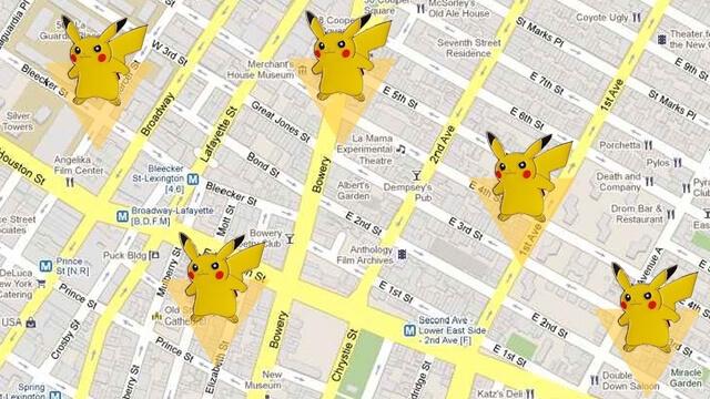 Pokemon Go location hopping glitch, multiple pikachu