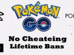 Cheaters are Getting Banned from Pokémon GO