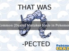 Common Mistakes Made in Pokemon