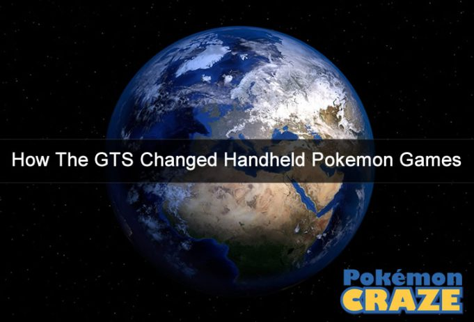 How The GTS Changed Handheld Pokemon Games