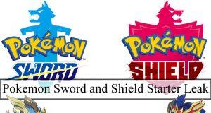 Pokemon Sword and Shield Starter Leak