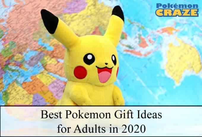 Best Pokemon Gift Ideas for Adults in 2020
