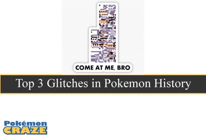 Top 3 Glitches in Pokemon History
